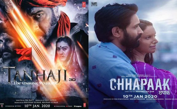 tanhaji versus chhapaak